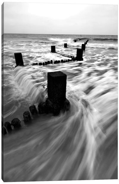 B&W Seascape I Canvas Art Print