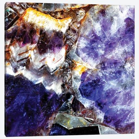 Close-Up Of Gems Canvas Print #TQU76} by Tom Quartermaine Canvas Art