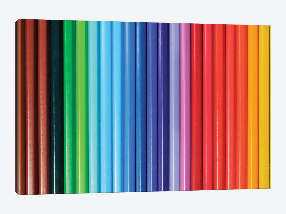Coloured Pencils I by Tom Quartermaine 1-piece Canvas Art Print