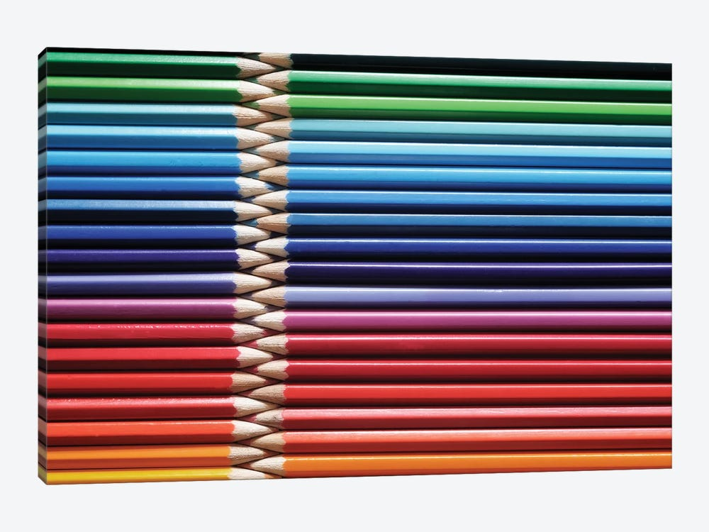 Coloured Pencils II by Tom Quartermaine 1-piece Canvas Artwork
