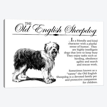 Vintage Old English Storybook Style Canvas Print #TRA135} by Traci Anderson Canvas Artwork