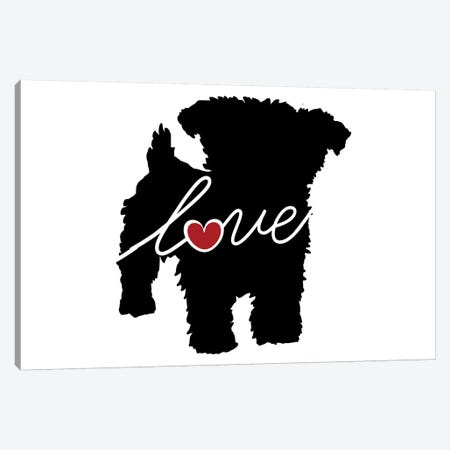 Yorkiepoo Canvas Print #TRA152} by Traci Anderson Canvas Print