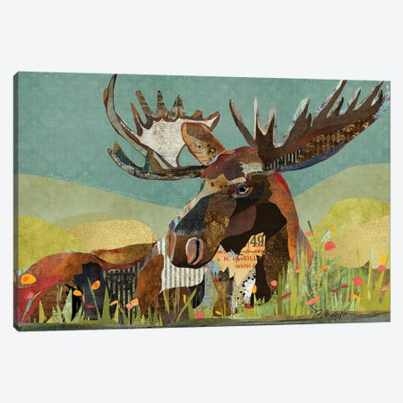 Sunbathing Beast 3-Piece Canvas #TRA169} by Traci Anderson Canvas Wall Art