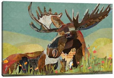 Sunbathing Beast Canvas Art Print