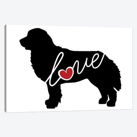 Bernese Mountain Dog Canvas Print #TRA16} by Traci Anderson Canvas Art