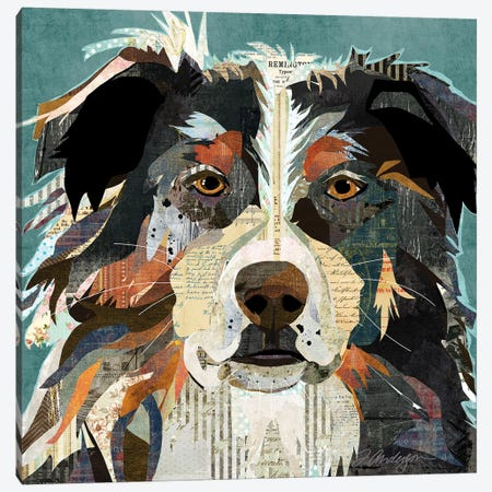 Bright Eyed Aussie Canvas Print #TRA170} by Traci Anderson Canvas Art Print