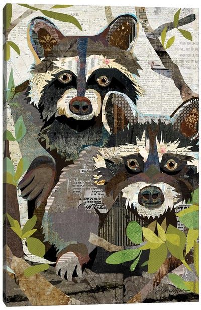 Four Eyes On You Canvas Art Print