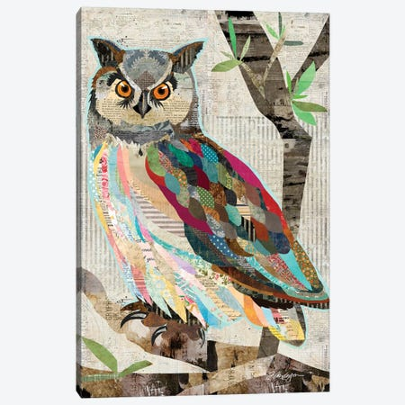 Owl Watch Over You Canvas Print #TRA178} by Traci Anderson Canvas Print