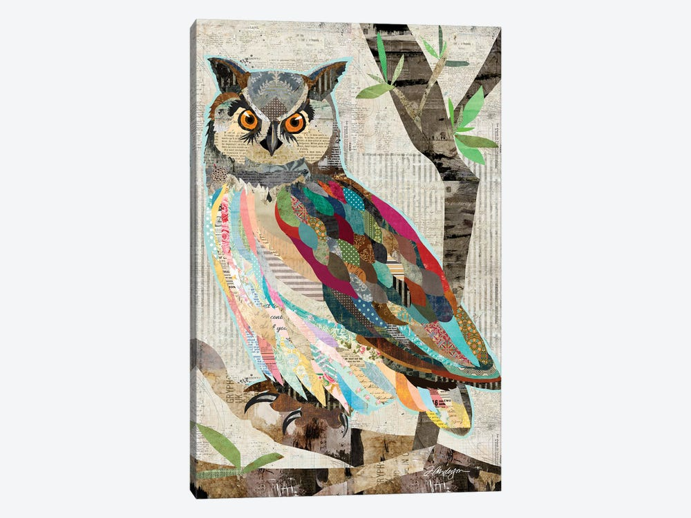 Owl Watch Over You by Traci Anderson 1-piece Canvas Wall Art