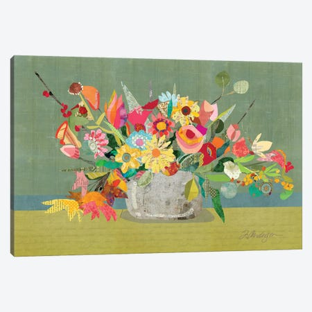 Farmhouse Centerpiece Canvas Print #TRA182} by Traci Anderson Canvas Wall Art