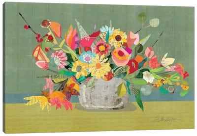 Farmhouse Centerpiece Canvas Art Print