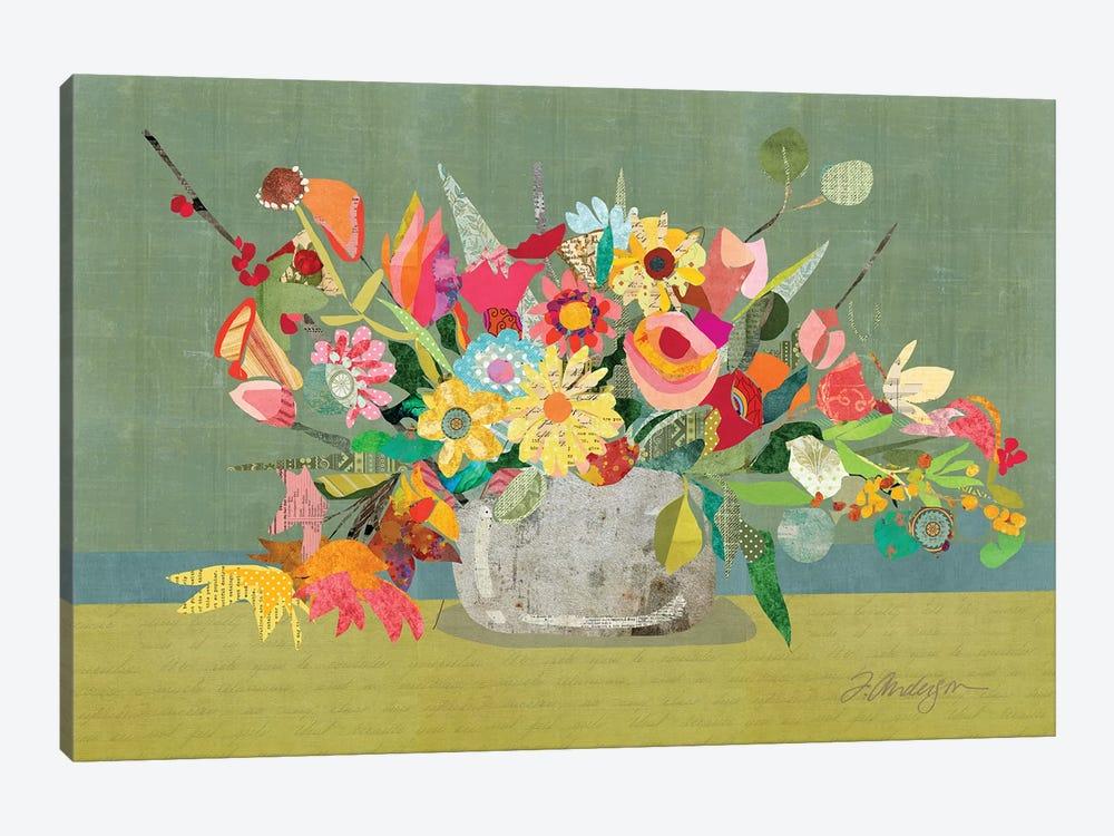 Farmhouse Centerpiece by Traci Anderson 1-piece Canvas Art Print