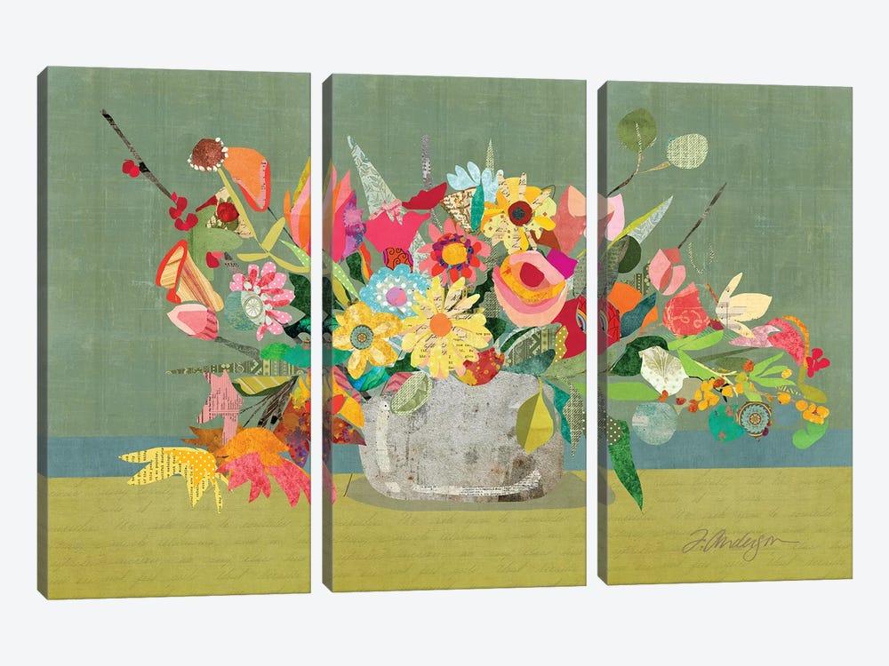 Farmhouse Centerpiece by Traci Anderson 3-piece Canvas Print
