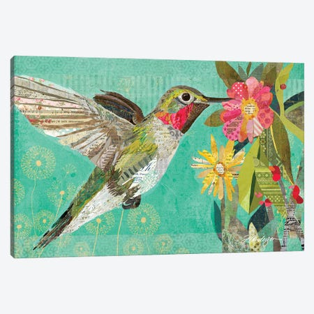 Mom's Hummingbird Canvas Print #TRA186} by Traci Anderson Canvas Print