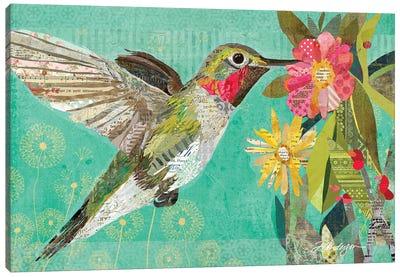 Mom's Hummingbird Canvas Art Print