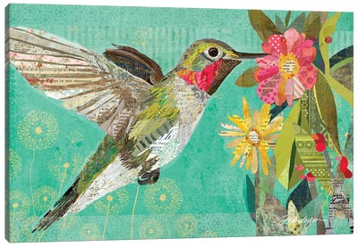 Mom's Hummingbird Canvas Art Print