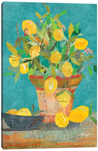 Potted Sunshine Canvas Art Print