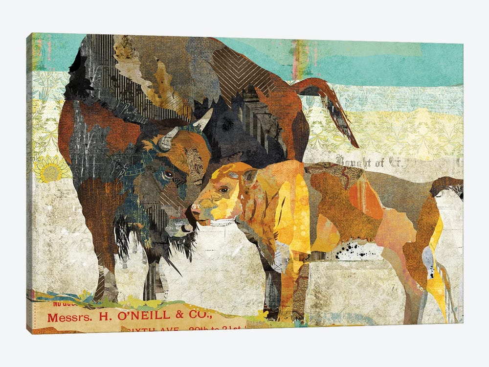 Bison Son by Traci Anderson 1-piece Canvas Art