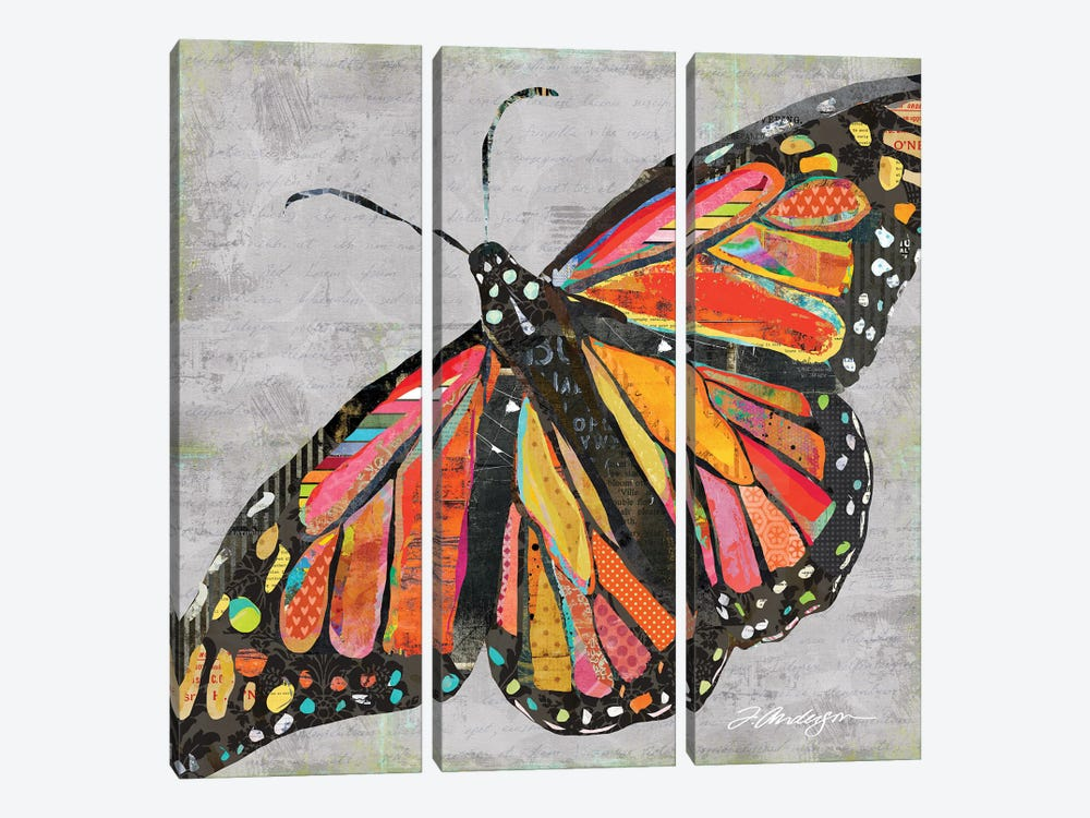 But What If I Fly? by Traci Anderson 3-piece Canvas Print