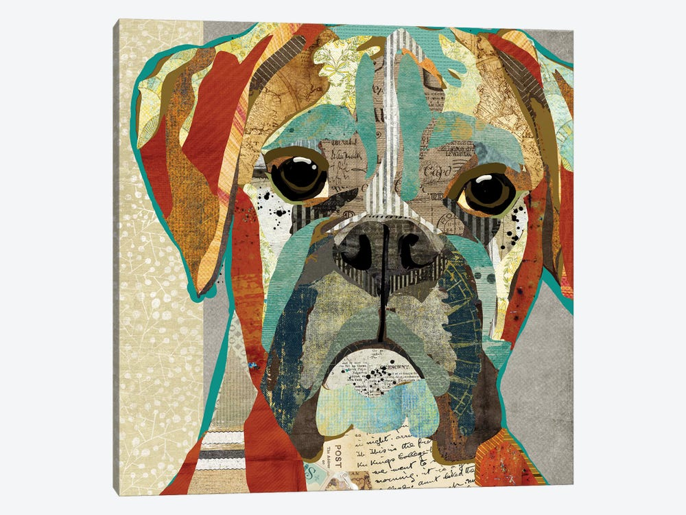 Boxer 1-piece Canvas Wall Art