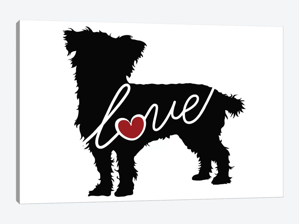 Cairn Terrier Mix by Traci Anderson 1-piece Art Print