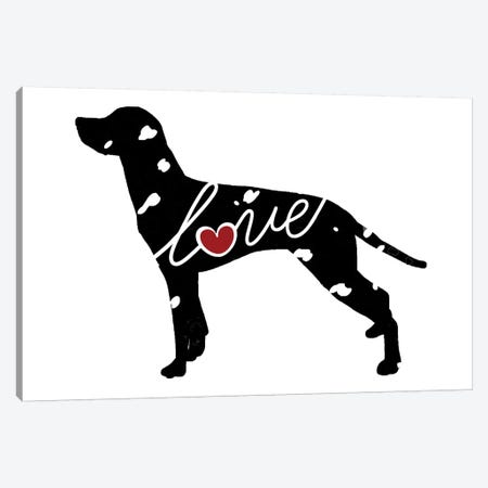 Dalmatian Canvas Print #TRA42} by Traci Anderson Canvas Wall Art