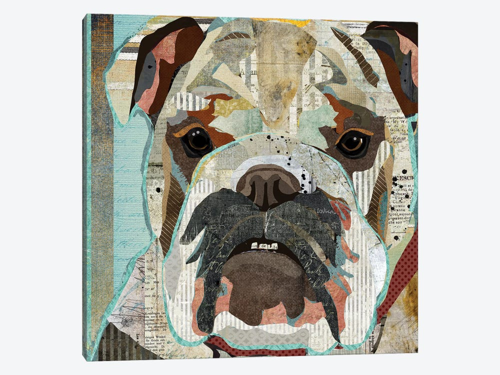 English Bulldog by Traci Anderson 1-piece Art Print