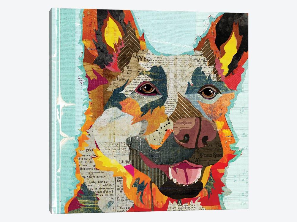 German Shepherd Ii by Traci Anderson 1-piece Canvas Print