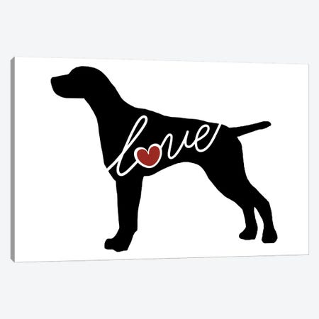 German Shorthaired Pointer Canvas Print #TRA54} by Traci Anderson Canvas Artwork