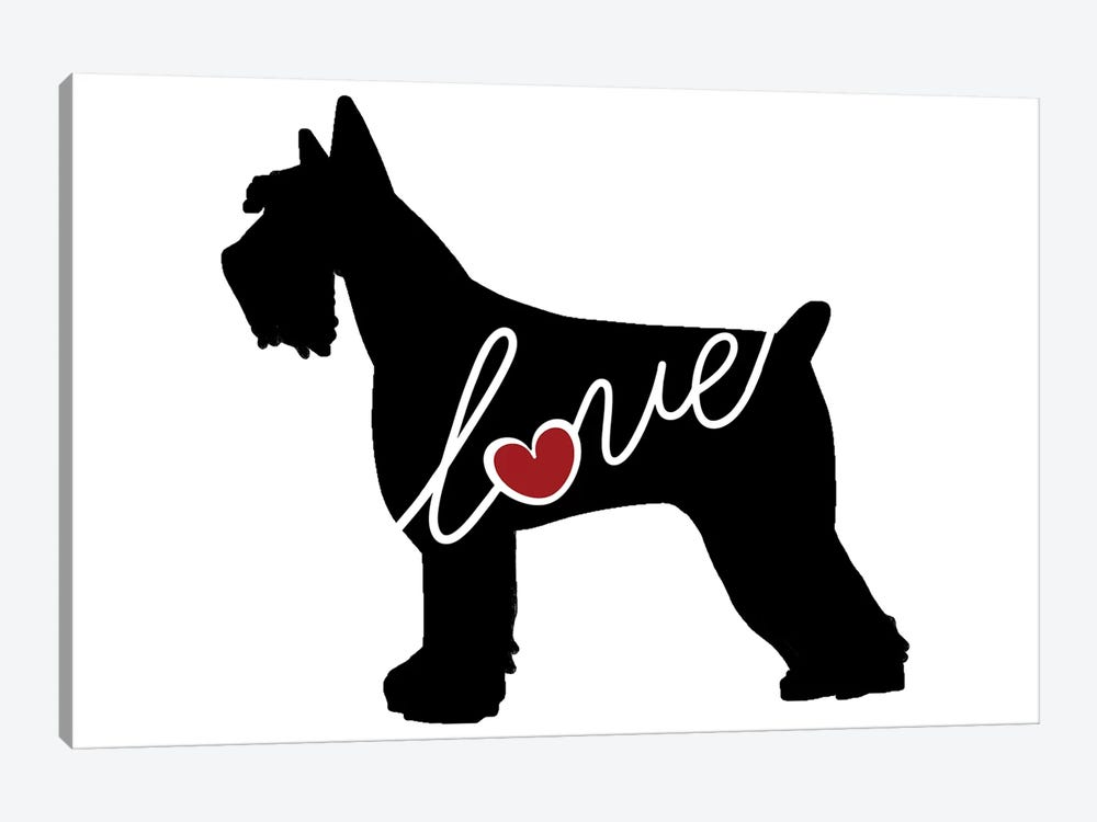 Giant Schnauzer by Traci Anderson 1-piece Art Print