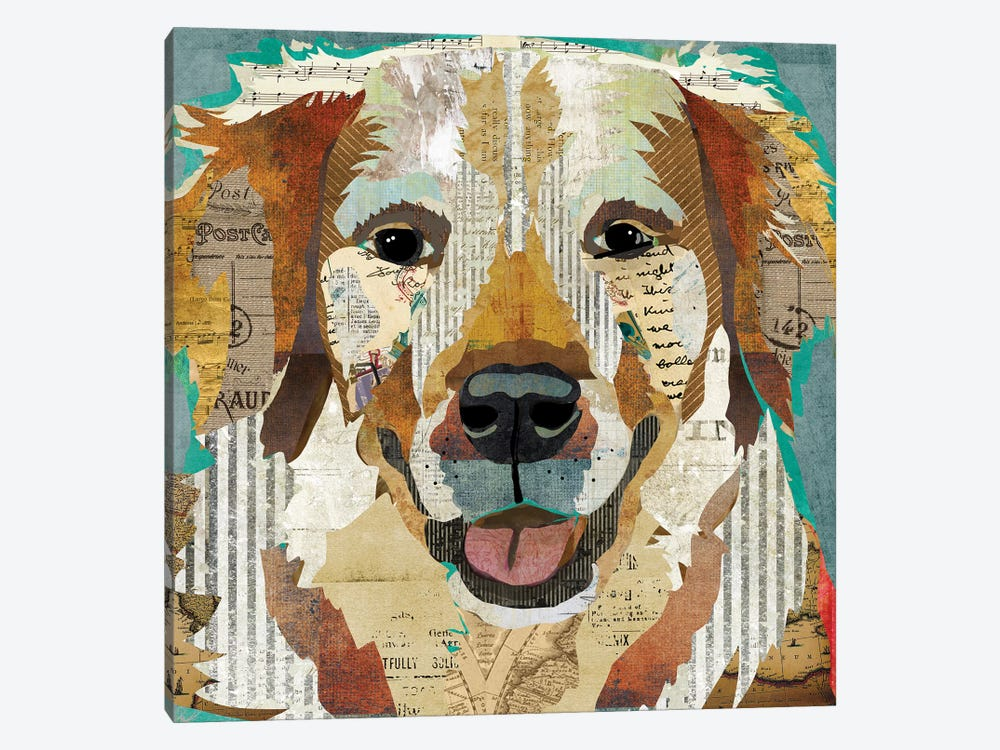 Golden I by Traci Anderson 1-piece Canvas Print
