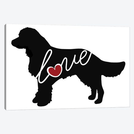 American Water Spaniel Canvas Print #TRA8} by Traci Anderson Canvas Wall Art