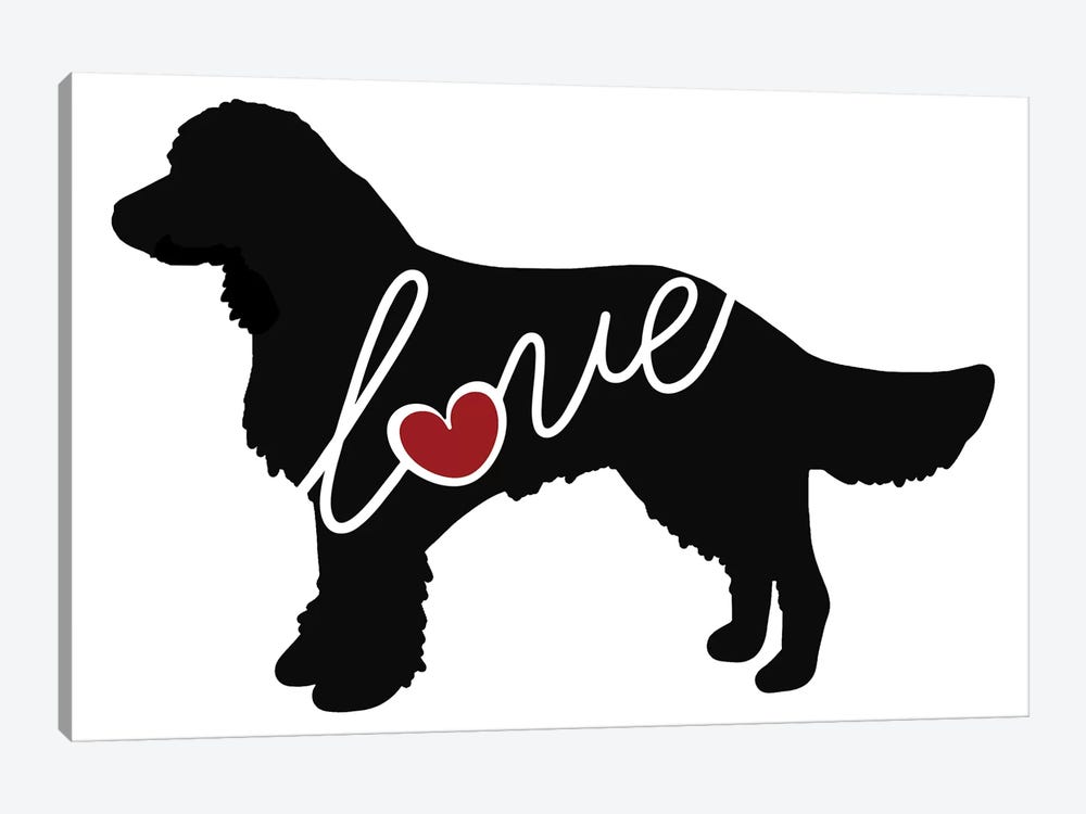 American Water Spaniel by Traci Anderson 1-piece Canvas Wall Art