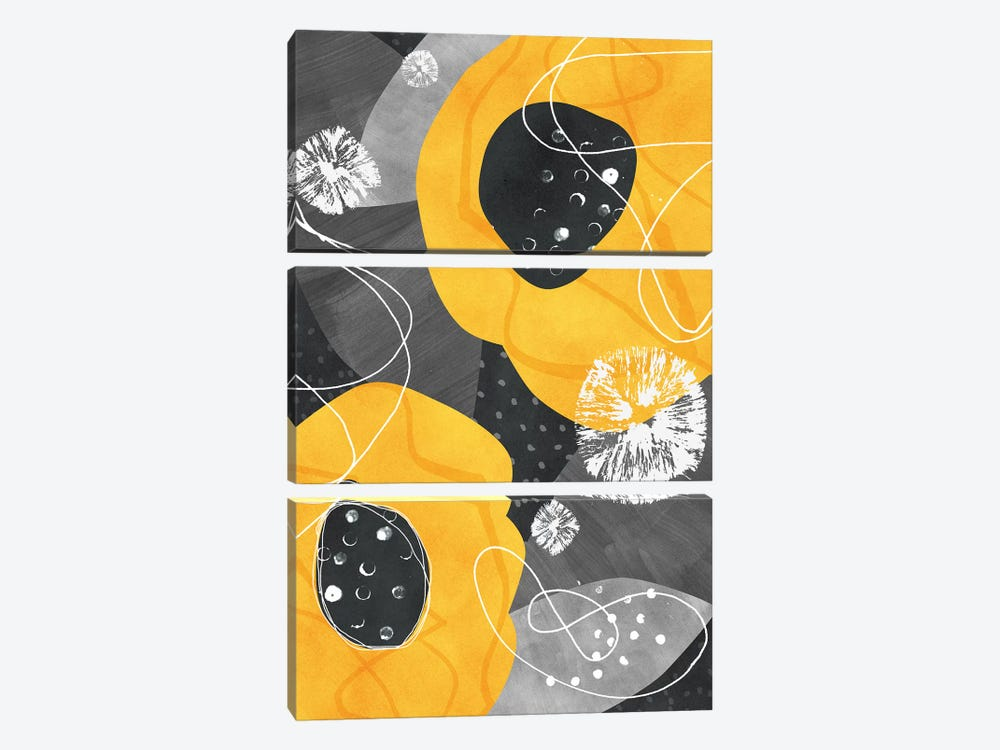 Juno by Tracie Andrews 3-piece Canvas Art Print