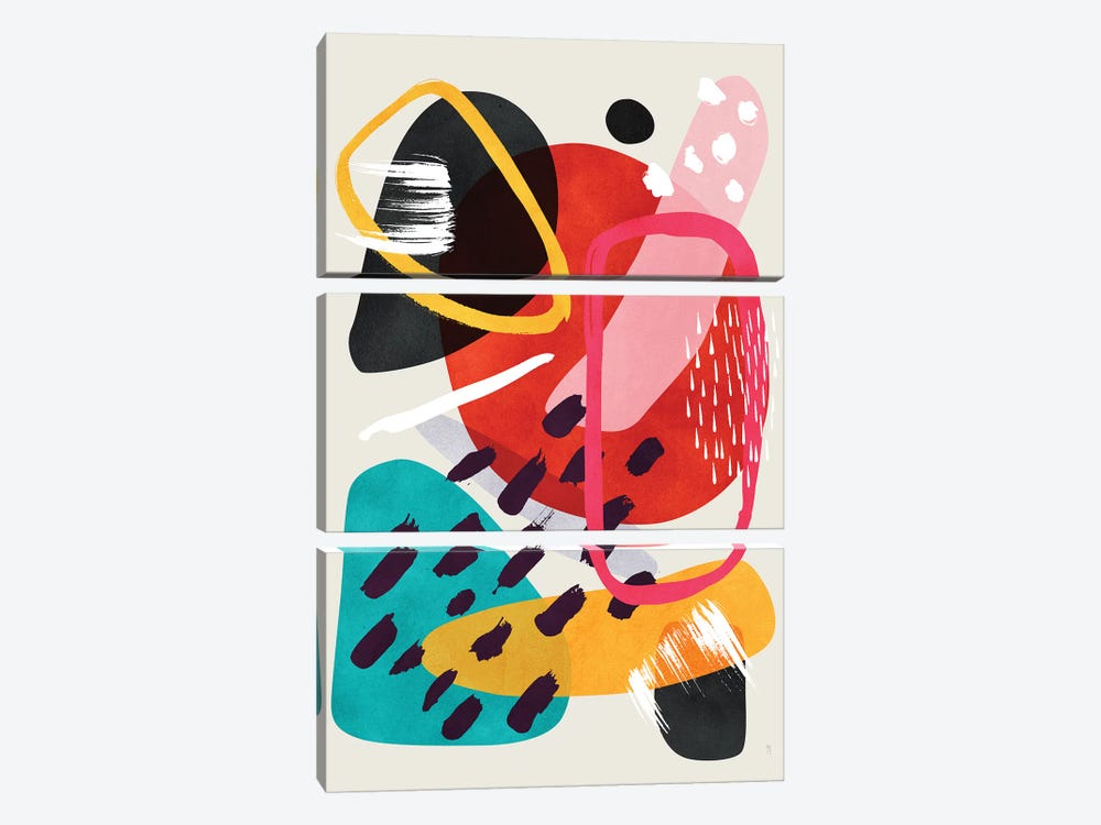 Mikah by Tracie Andrews 3-piece Canvas Artwork