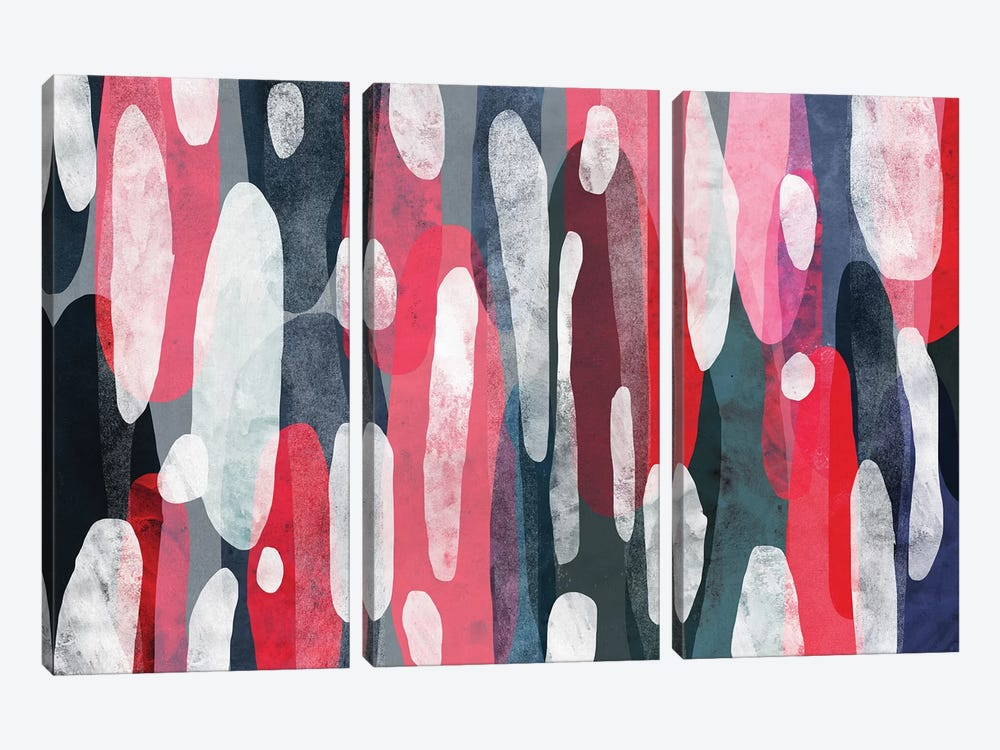 The Space In-Between by Tracie Andrews 3-piece Canvas Wall Art