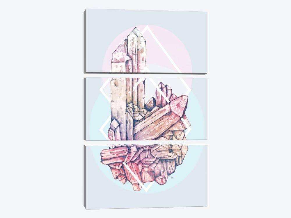 Crystalline II by Tracie Andrews 3-piece Canvas Art