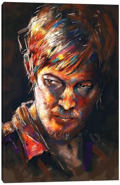 Daryl Dixon Canvas Print #TRC14