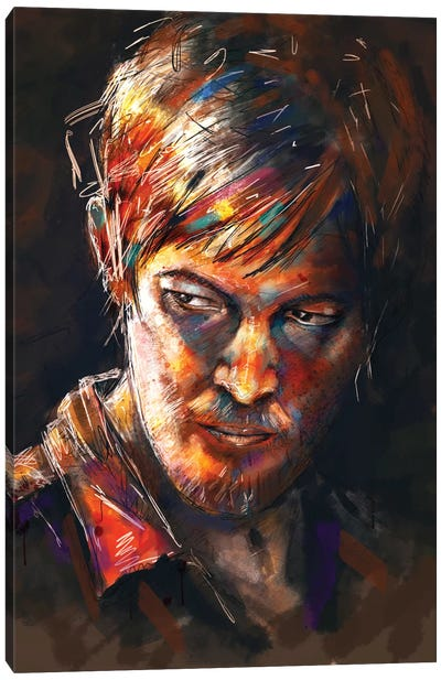 Daryl Dixon Canvas Art Print