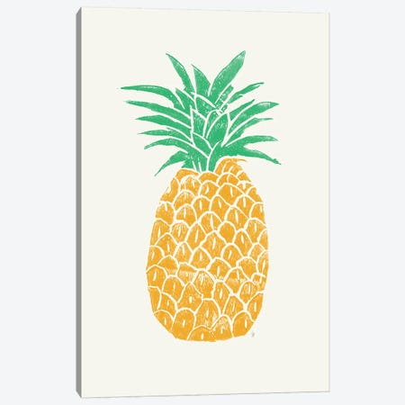 Pineapple Canvas Print #TRC151} by Tracie Andrews Canvas Artwork