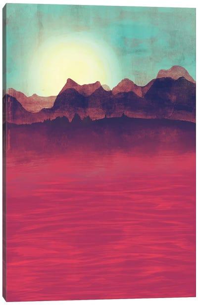 Distant Mountains Canvas Print #TRC16