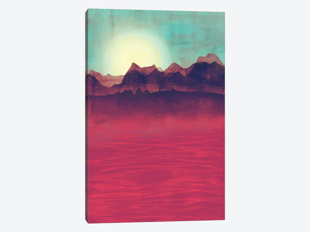 Distant Mountains by Tracie Andrews 1-piece Art Print