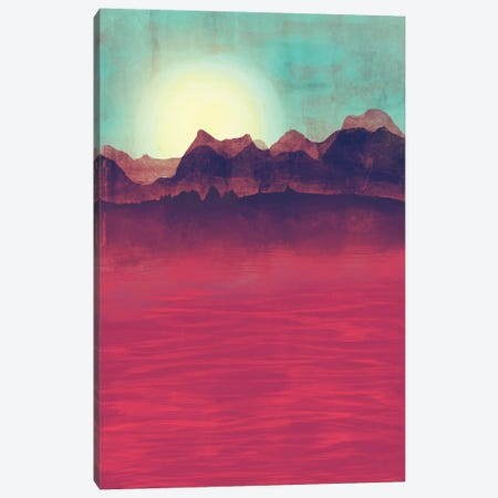 Distant Mountains Canvas Print #TRC16} by Tracie Andrews Canvas Art
