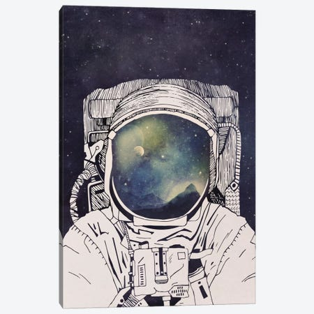 Dreaming Of Space Canvas Print #TRC17} by Tracie Andrews Canvas Artwork