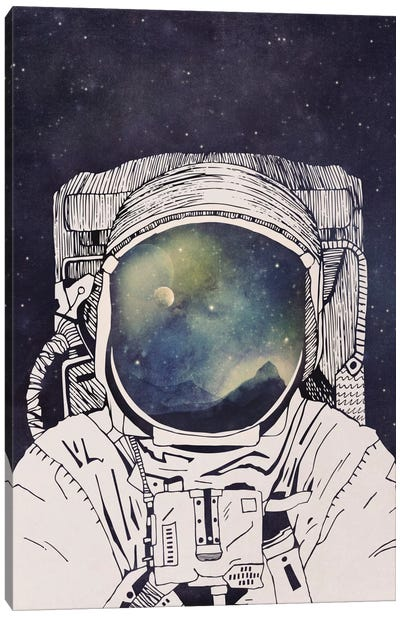 Dreaming Of Space Canvas Art Print