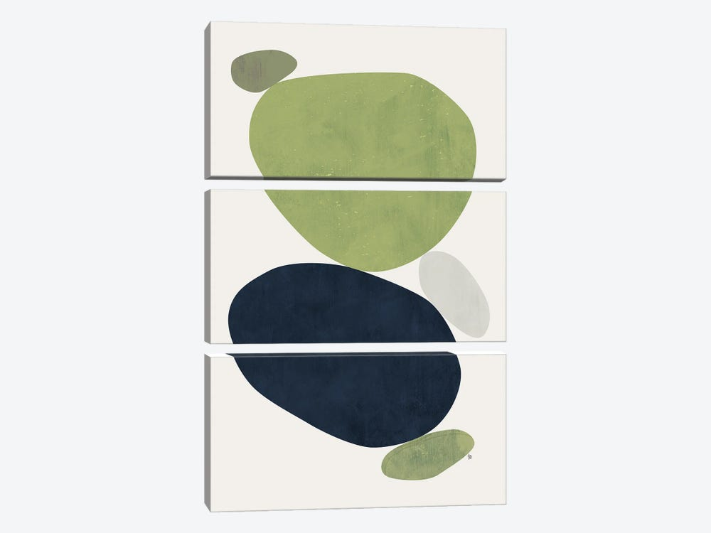 Balance VII by Tracie Andrews 3-piece Canvas Art Print