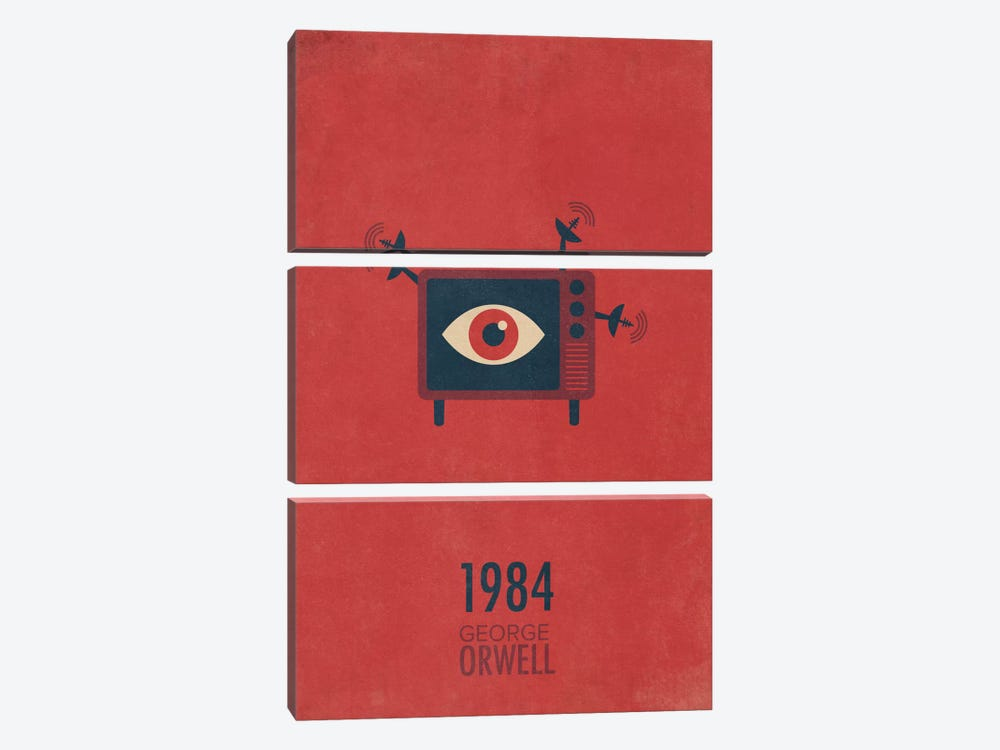 1984 by Tracie Andrews 3-piece Canvas Print