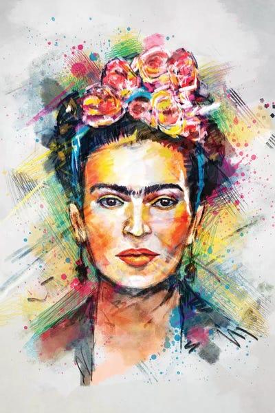 Frida Kahlo Self Portrait III CANVAS OR PRINT WALL ART