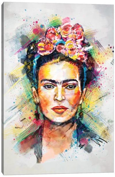 Frida Kahlo Canvas Print #TRC28