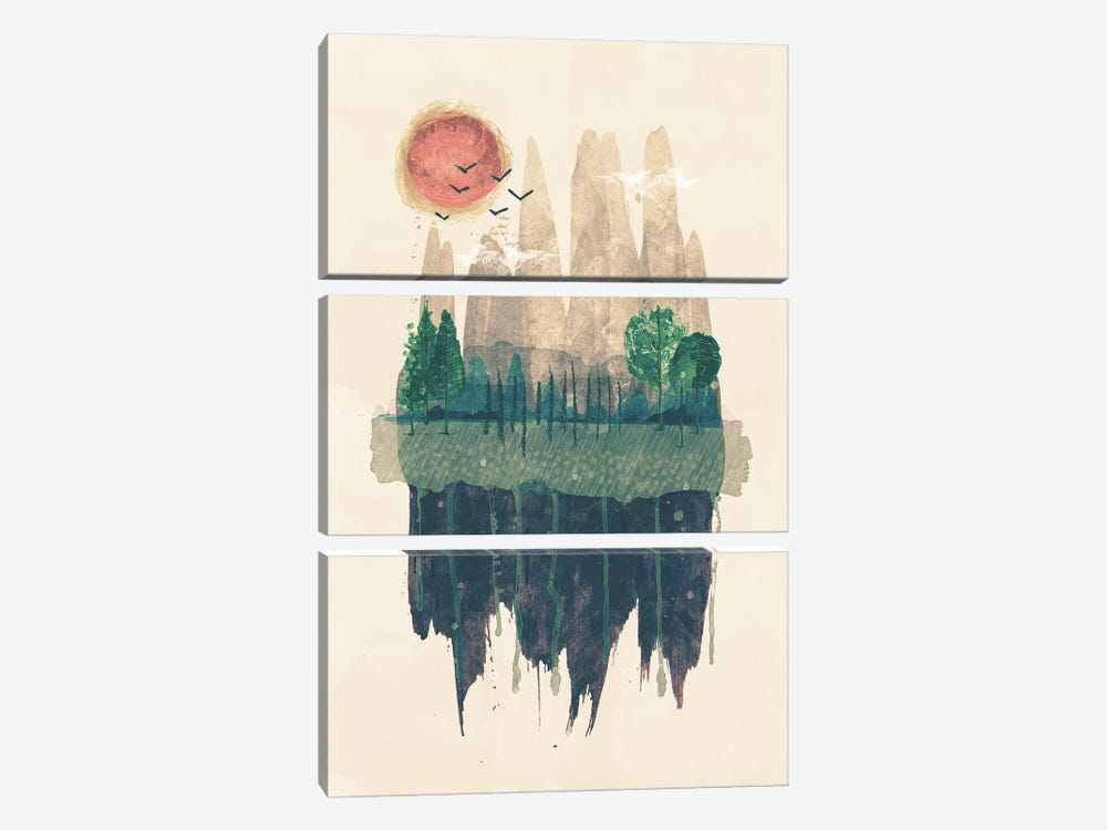 Hinterland by Tracie Andrews 3-piece Art Print